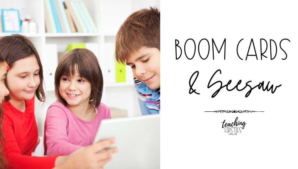 boom cards and seesaw