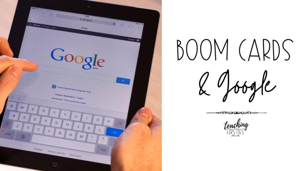 boom cards google classroom