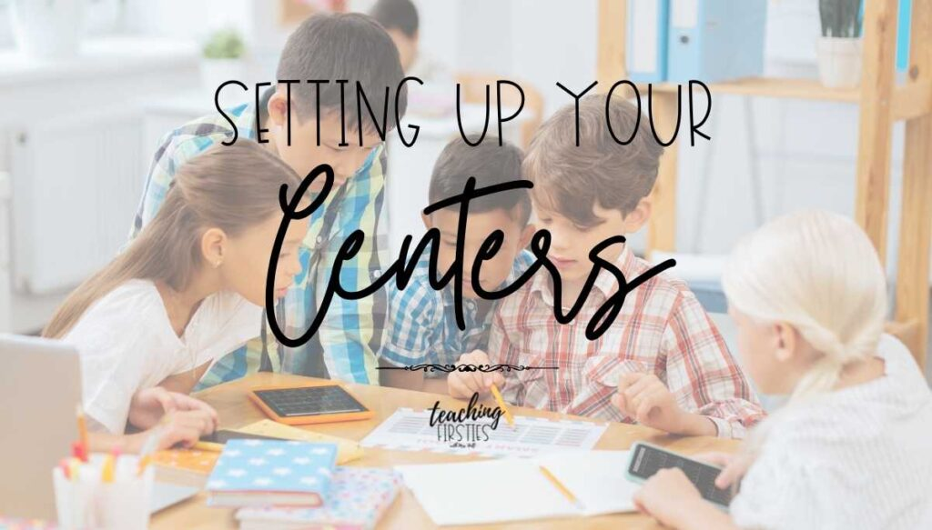 how to set up literacy centers