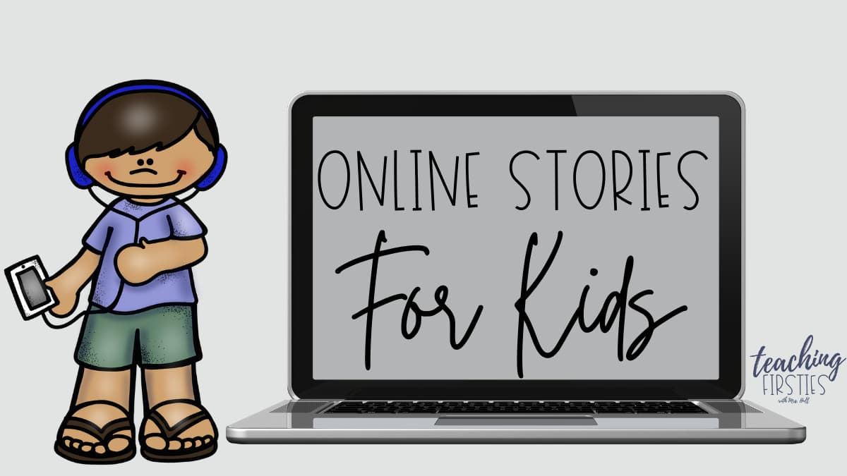 finding online stories for kids