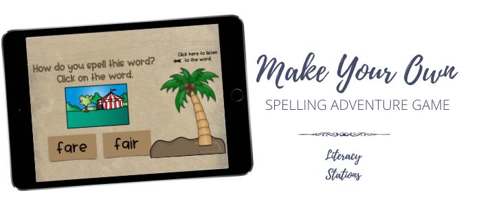 spelling word games
